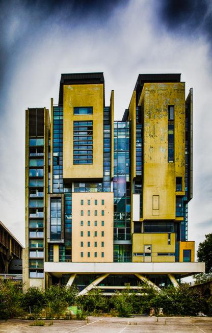 Immeuble le long de l'avenue de France 3